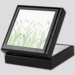 Delicate Grasses Keepsake Box