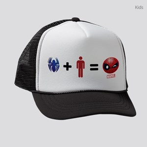 Spider-Man Emoji Kids Trucker hat