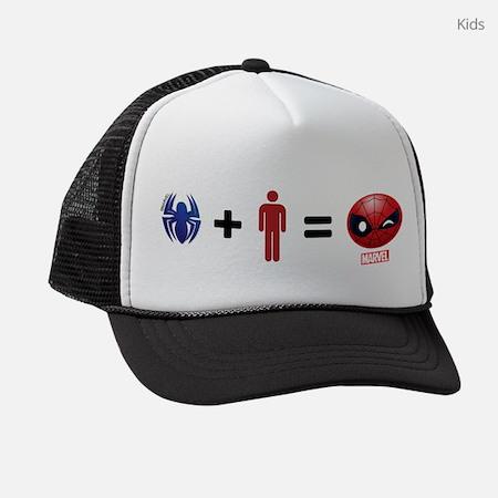 Spider-Man Emoji Kids Trucker Hat
