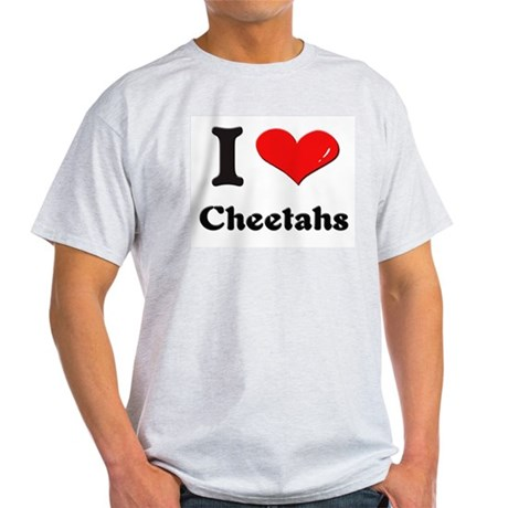 I love cheetahs Light T-Shirt