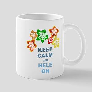 Keep Calm Hele On Mugs