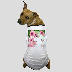 Pink Butterflies Dog T-Shirt
