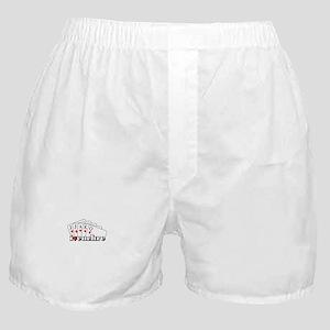 I Heart Euchre Boxer Shorts