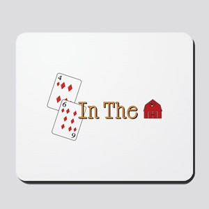 In the Barn Mousepad