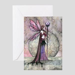 Moon Dream Fairy Fantasy Art Greeting Cards