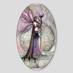 Moon Dream Fairy Fantasy Art Sticker