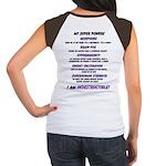 I am Wonder Woman Lupus Women's Cap Sleeve T-Shirt