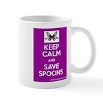 Keep Calm & Save Spoons Mug