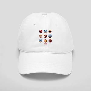 Marvel Faces Emoji Cap