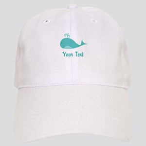 Personalizable Cute Whale Baseball Cap
