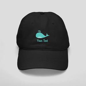 Personalizable Cute Whale Baseball Hat