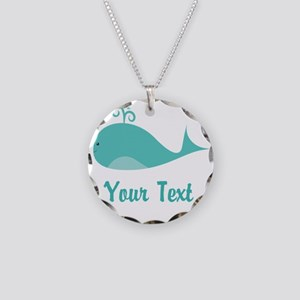 Personalizable Cute Whale Necklace