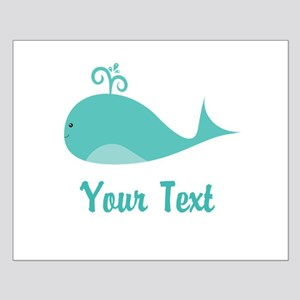 Personalizable Cute Whale Posters
