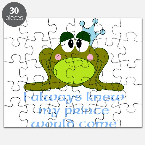 Cute Frog Prince Puzzle