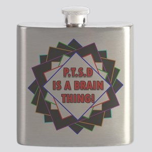 P.T.S.D. BY CANDIDOG Flask
