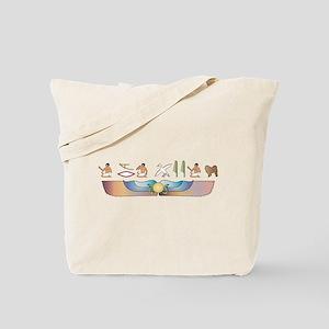 Chow Hieroglyphs Tote Bag