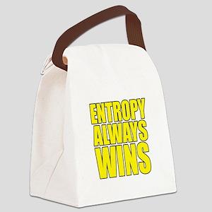 Entropy Always Wins 3 Canvas Lunch Bag