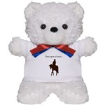 Horse Theme Design by Chevalinite Teddy Bear