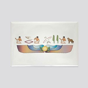 Caucasian Hieroglyphs Rectangle Magnet