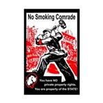 Smoking Ban Protest Gear Mini Poster Print