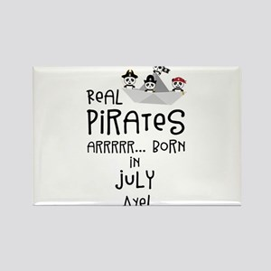 Real Pirates are born in JULY Magnets