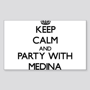 Keep calm and Party with Medina Sticker