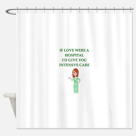 hospital Shower Curtain