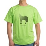 Horse Design by Chevalinite Green T-Shirt