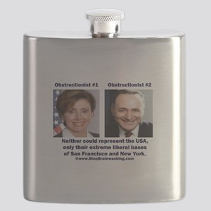 liberals - today's brown Flask