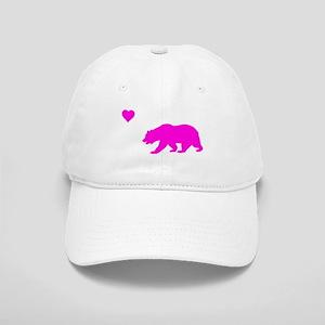 neon pink california love Cap
