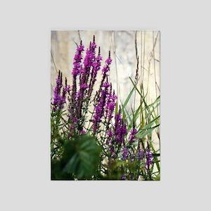 Wildflowers In Newport Vermont 5'x7'Area Rug