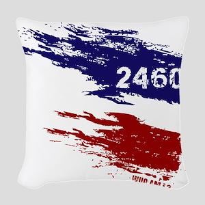 Who Am I? 24601 Woven Throw Pillow