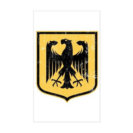 Strk3 German Eagle Rectangle Sticker