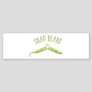 SNAP BEANS Bumper Sticker