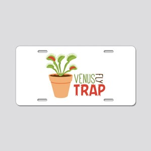 VENUS FLY TRAP Aluminum License Plate