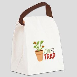 VENUS FLY TRAP Canvas Lunch Bag