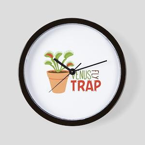 VENUS FLY TRAP Wall Clock