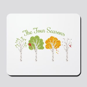 The Four Seasons Mousepad