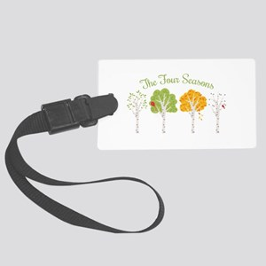 The Four Seasons Luggage Tag