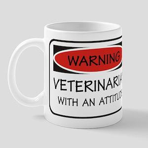 Attitude Veterinarian Mug