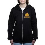 Canada Souvenir Varsity Women's Zip Hoodie