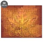 Canada Souvenir Varsity Puzzle
