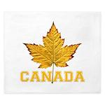 Canada Souvenir Varsity King Duvet
