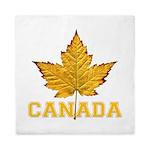 Canada Souvenir Varsity Queen Duvet