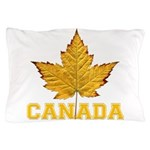 Canada Souvenir Varsity Pillow Case