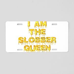 slobber_queen Aluminum License Plate