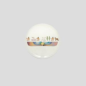Bedlington Hieroglyphs Mini Button