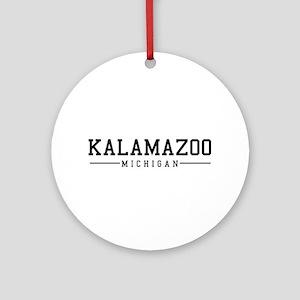 Kalamazoo, Michigan Ornament (Round)