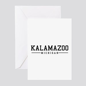 Kalamazoo, Michigan Greeting Cards (Pk of 10)
