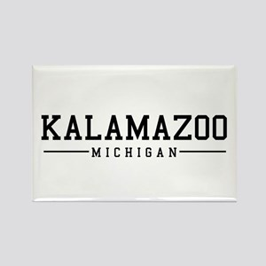 Kalamazoo, Michigan Rectangle Magnet